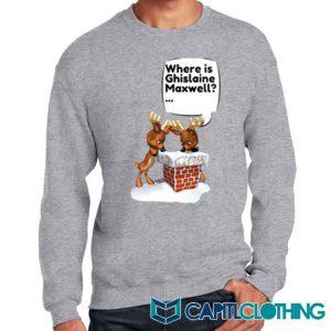 Free Ghislaine Christmas Sweatshirt On Sale