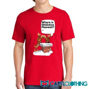 Free Ghislaine Christmas Tee On Sale