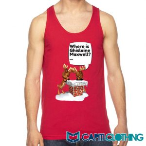 Free Ghislaine Christmas Tank Top On Sale