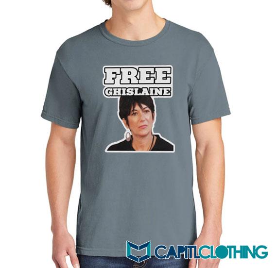Free Ghislaine Tee On Sale