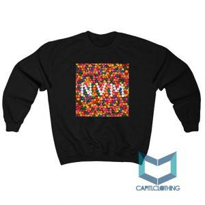 NVM Studio Album Tatocat Band Sweatshirt