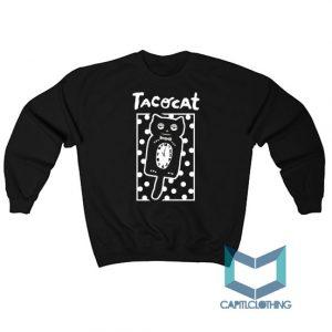Sleepy Cat Tatocat Band Sweatshirt On Sale