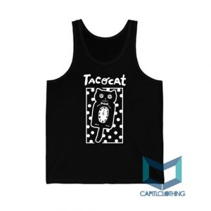 Sleepy Cat Tatocat Band Tank Top On Sale