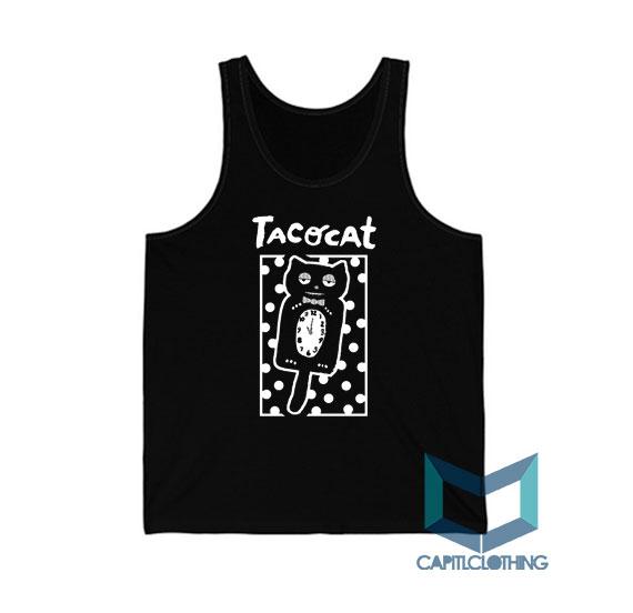 Sleepy Cat Tatocat Band Tank Top On Sale