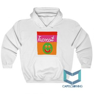 Tatocat Band Smile Striped Hoodie On Sale
