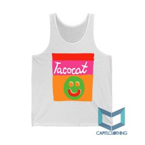 Tatocat Band Smile Striped Tank Top On Sale