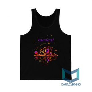 Space Design Tatocat Band Tank Top On Sale