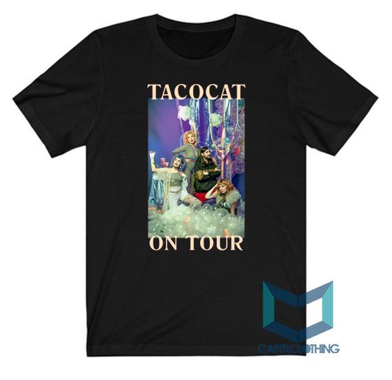Buy Tatocat Band The Crofood On Tour Tee