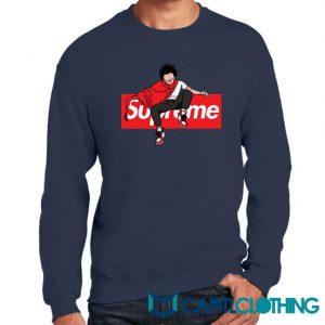 Akira Anime X Supreme Parody Sweatshirt