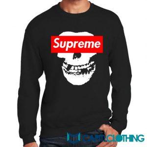 Misfit X Supreme Logo Parody Sweatshirt