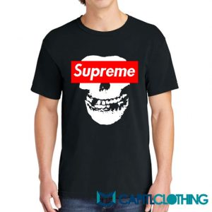 Misfit X Supreme Logo Parody Tee
