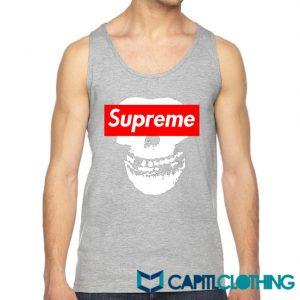 Misfit X Supreme Logo Parody Tank Top