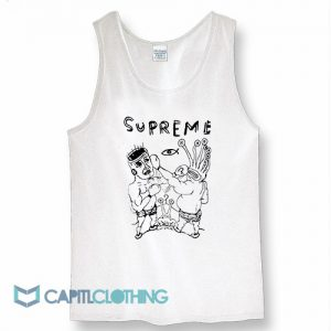 Supreme X RIP Daniel Johnston Tank Top