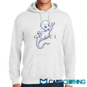 Casper Cartoon X Gucci Parody Hoodie