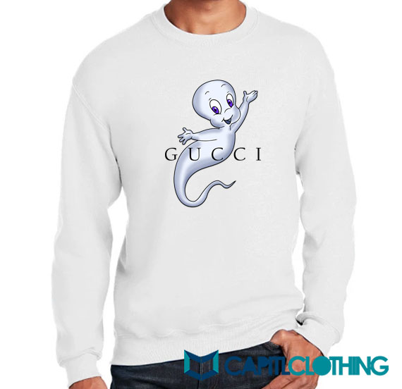 Casper Cartoon X Gucci Parody Sweatshirt