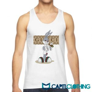 Rabbit Bugs Bunny Gucci Parody Tank Top