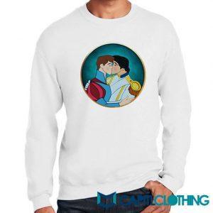 Gay Pride Disney Prince Women Funny Sweatshirt