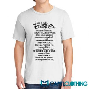 I'm A Disney Girl Quotes Tee