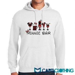 Disney And Minnie Bar Hoodie