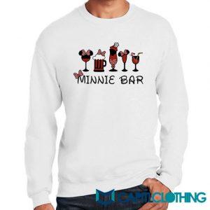 Disney And Minnie Bar Sweatshirt
