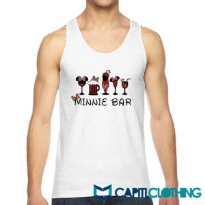 Disney And Minnie Bar Tank Top