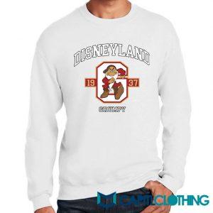 Vintage Disneyland 1937 Grumpy Sweatshirt