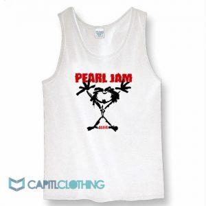 Alive Stickman Pearl Jam Tank Top