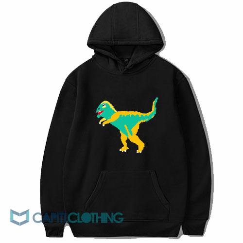 Dinosaur Graphic Hoodie