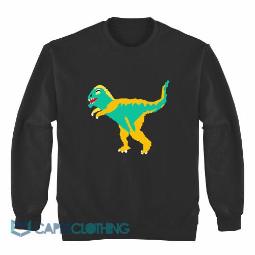 Dinosaur Graphic Sweatshirt