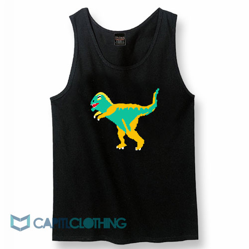 Dinosaur Graphic Tank Top