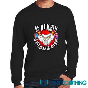 Gift Naughty Christmas Sweatshirt
