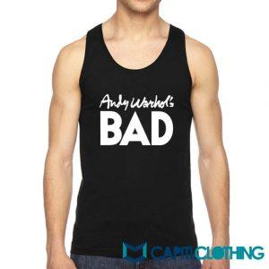 Andy Warhol's BAD Tank Top