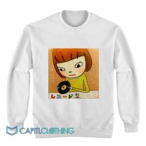 Yoshitomo Nara Schallplatten Sweatshirt