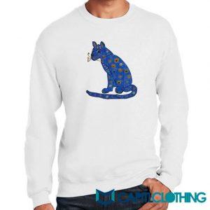 Abba Blue Cat Sweatshirt