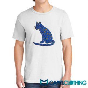 Abba Blue Cat Tee