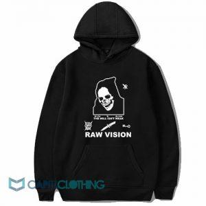 Alien Body Lil Peep Raw Vision Hoodie