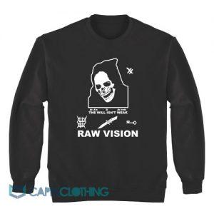 Alien Body Lil Peep Raw Vision Sweatshirt