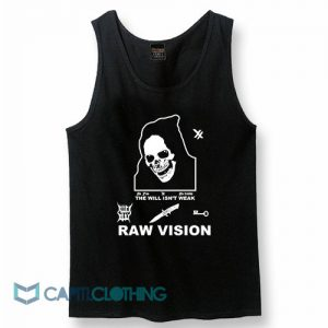 Alien Body Lil Peep Raw Vision Tank Top